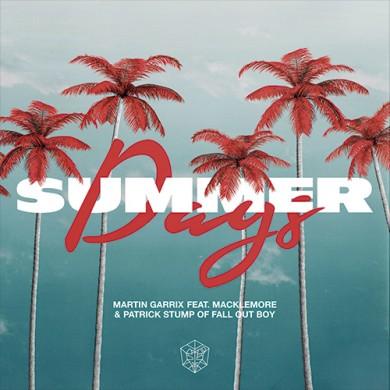 Carátula - Martin Garrix & Macklemore - Summer Days