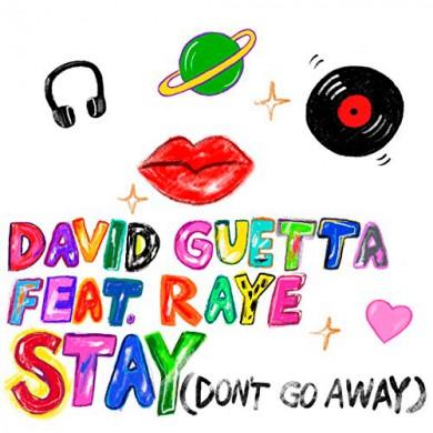 Carátula - David Guetta feat. Raye - Stay
