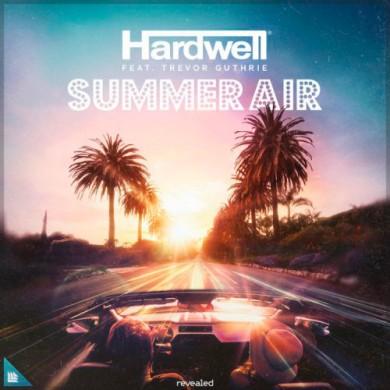 Carátula - Hardwell feat. Trevor Guthrie - Summer Air