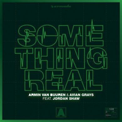 Carátula - Armin Van Buuren feat. Jordan Shaw - Something Real