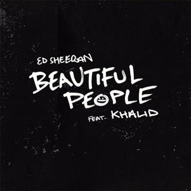 Carátula - Ed Sheeran feat. Khalid - Beautiful People