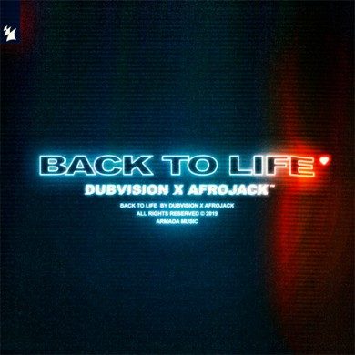 Carátula - Dubvision & Afrojack - Back To Life
