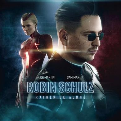 Carátula - Robin Schulz - Rather Be Alone