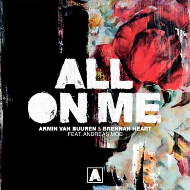 Carátula - Armin Van Buuren feat. Andreas Moe - All On Me