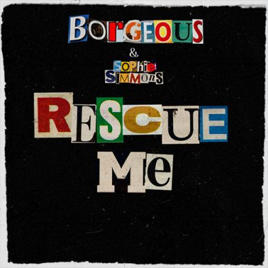 Carátula - Borgeous feat. Sophie Simmons - Rescue Me