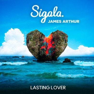 Carátula - Sigala & James Arthur - Lasting Love