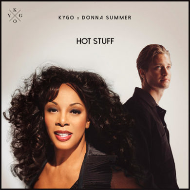 Carátula - Kygo & Donna Summer - Hot Stuff