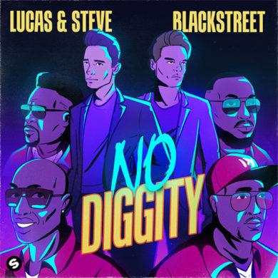 Carátula - Lucas & Steve - No Diggity