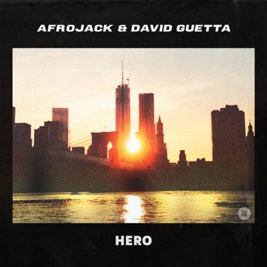 Carátula - Afrojack & David Guetta - Hero